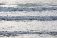 Прибой моря конца-вверх Стоковые Фотографии RF