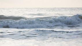 Прибой моря конца-вверх Стоковые Изображения RF
