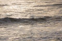 Прибой моря конца-вверх Стоковое Изображение