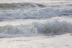Прибой моря конца-вверх Стоковые Изображения