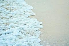 Прибой моря на береге Стоковое фото RF