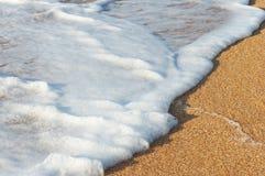 прибой моря пены стоковое изображение