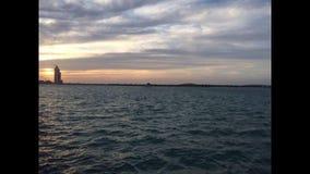 прибой моря точного золота склонения добросердечный Стоковое Изображение RF