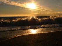 прибой моря Стоковые Изображения