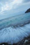 прибой моря Стоковая Фотография