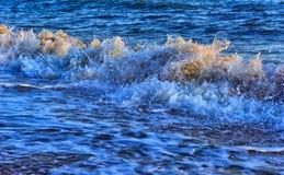 Прибой на пляже стоковая фотография rf
