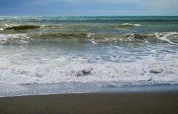 Прибой на horseshoe пляже стоковое фото rf