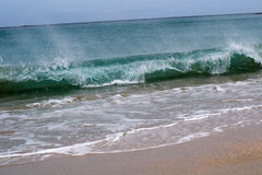 прибой пляжа сногсшибательный одичалый Стоковые Фото