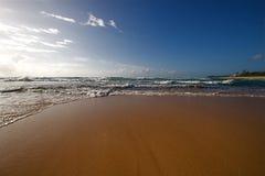 прибой пляжа стоковые фотографии rf