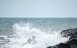 Прибой Северного моря Стоковое Изображение