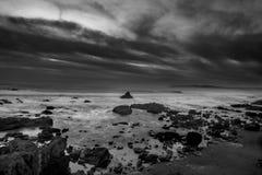 Прибой Тихого океана стоковые фотографии rf
