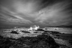 Прибой Тихого океана стоковое изображение