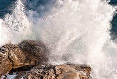прибой шторма Стоковые Изображения RF