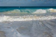 прибой tenerife океана Канарских островов Стоковое Фото