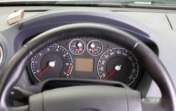 приборная панель автомобиля Стоковое Изображение