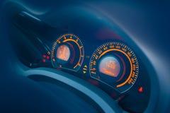 приборная панель автомобиля Стоковая Фотография RF