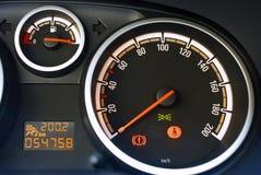 приборная панель автомобиля Стоковые Фото