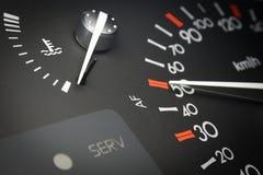 приборная панель автомобиля Стоковые Изображения RF