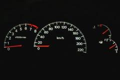 приборная панель автомобиля Стоковое фото RF