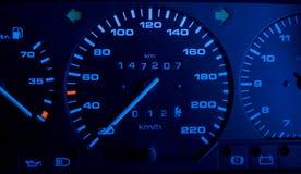 приборная панель автомобиля Стоковая Фотография