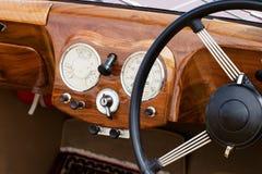 приборная панель деревянная стоковые фотографии rf