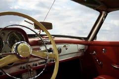приборная панель классики автомобиля Стоковые Фото
