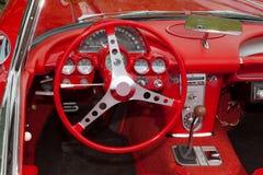 приборная панель corvette Стоковые Изображения RF
