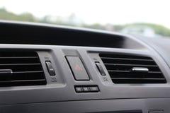 Приборная панель автомобиля с видно сбросами Стоковая Фотография RF