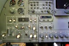 Приборная панель арены самолета Стоковые Изображения RF