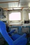 Приборная панель военного корабля Стоковое Фото