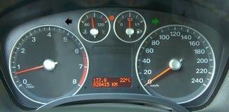 приборы автомобиля Стоковая Фотография RF