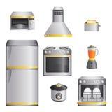 Приборы кухни Стоковые Фото