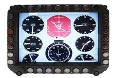 Приборы навигации авиации стоковая фотография