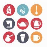 Приборы для кофе Стоковые Фото