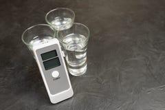 Прибор для измерять степень опьянения Стоковое Фото