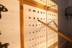 Прибор испытания зрения стоковые изображения rf