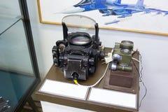 Прибор навигации авиации в центральном доме авиации и Стоковая Фотография RF