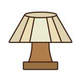 прибор дома настольной лампы декоративный Стоковое Изображение