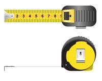 прибор предназначил ленту измерения измерения длины Стоковое фото RF