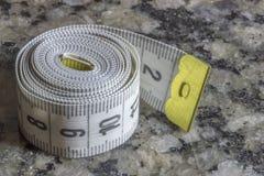 прибор предназначил ленту измерения измерения длины Стоковые Фотографии RF