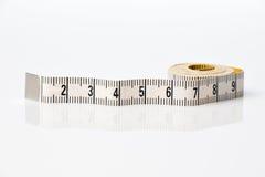 прибор предназначил ленту измерения измерения длины Стоковое Изображение