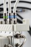 прибор распределяет сигнал к tv Стоковая Фотография RF