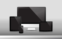 Прибор 3 технологии Стоковые Изображения RF