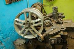 Прибор для колес ремонта Стоковые Изображения RF