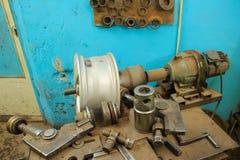 Прибор для колес ремонта Стоковые Фото