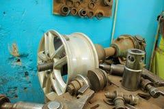 Прибор для колес ремонта Стоковая Фотография RF