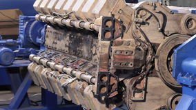 Прибор для собрания двигателей Прибор для разборки двигателей Стойка для ремонта двигателя сток-видео