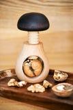 Прибор для трескать грецкие орехи Стоковые Фото