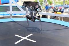 Прибор Bungee скача Стоковое Фото