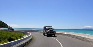 прибрежная дорога Стоковое Фото